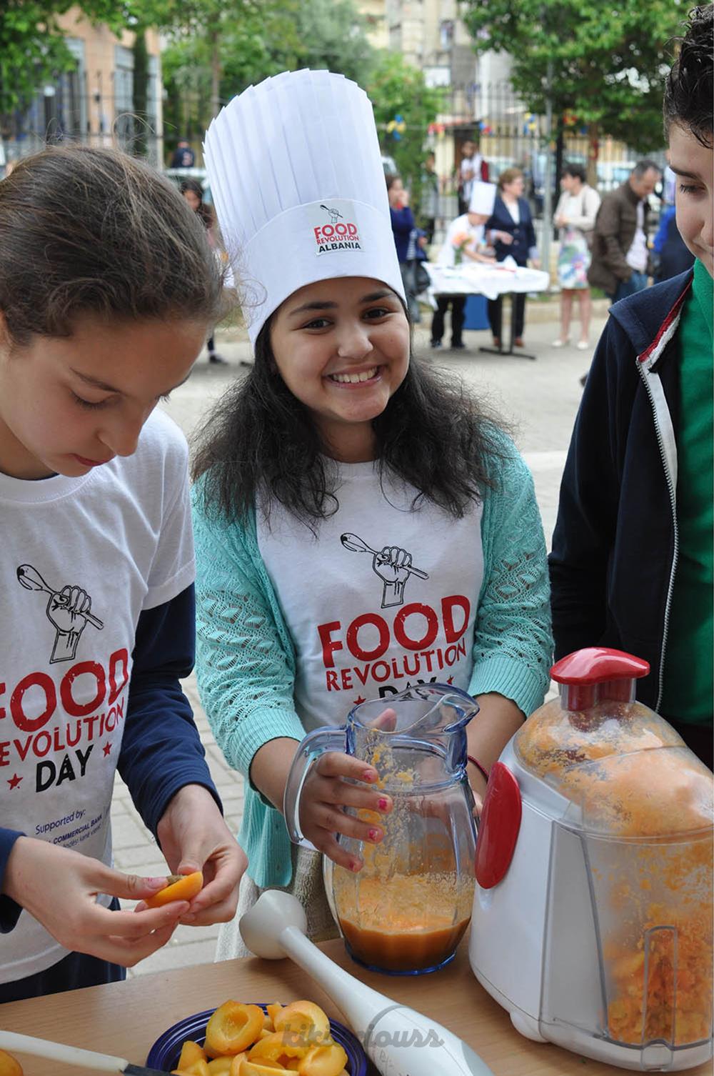"""Dita Botërore e """"Food Revolution"""" në Shqipëri 2016"""